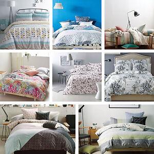 Linen House Designer 100 Cotton Duvet Quilt Cover With