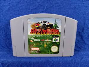 ** N64 Off Road desafío * X Juego Carro Genuino Nintendo Pal