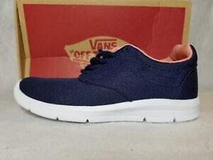 1f20d2de169a3a New Vans Iso 1.5 Mesh Eclipse Blue Pink White Ultra Cush Skate Shoe ...