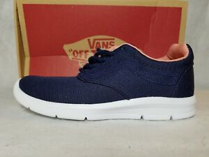 2aa42788d07151 New Vans Iso 1.5 Mesh Eclipse Blue Pink White Ultra Cush Skate Shoe ...