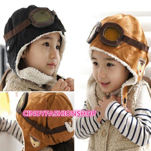 Us Winter Baby Toddler Kids Boy Girl Knitted Rabbit Crochet Ear