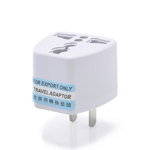 Travel Europe Euro UK to USA AC Charger Power Adapter Converter Wall Outlet Plug