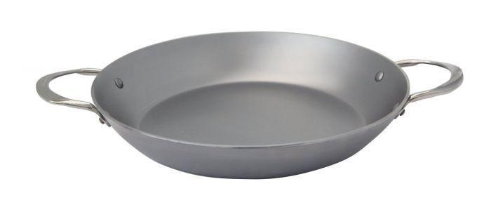 De Buyer paella inducción sartén hierro sartén 32 cm servierpfanne sartén