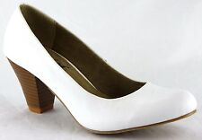 Andrea Conti Schuhe Sommer High Heels Pumps Echt Leder Gr.39 Weiß 2653