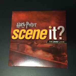 Harry-Potter-Scene-It-DVD-Board-Game-Replacement-Parts-DVD-With-Sleeve