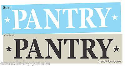 Joanie Design Stencil Bread Country Kitchen Primitive Box Pantry Family Art Sign