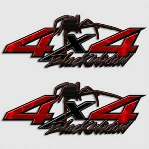 Details About 4x4 Spider Truck Decal Black Widow Sticker For Nissan Titan Frontier Pickup