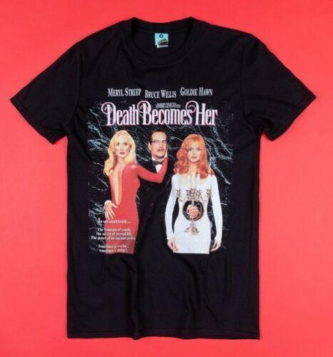 La mort devient son Movie Poster T-Shirt Noir