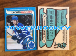 Custom-AUSTON-MATTHEWS-ROOKIE-1979-80-OPC-Style-High-Quality-card-only-34made-RC