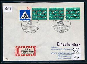 10608) Spécial R-ticket De Passau Printemps Exposition, Brf Sst 30.3.71 Cloche Bell-ellung,brf Sst 30.3.71 Glocke Bellfr-fr Afficher Le Titre D'origine à Vendre