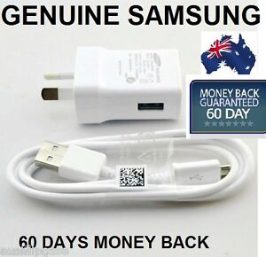 Genuine-Samsung-Galaxy-S4-S5-Wall-Charger-2A-USB-Cable-S2-S3-i9300-Note-2-3