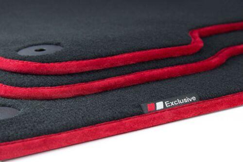 Luxury-line Fussmatten für Audi A6 4F C6 Avant Kombi Limo S-Line Bj.2006-2011
