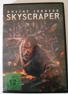 Skyscraper-Dwayne-Johnson-DVD-2018-NEU-Versand-per-Einschreiben
