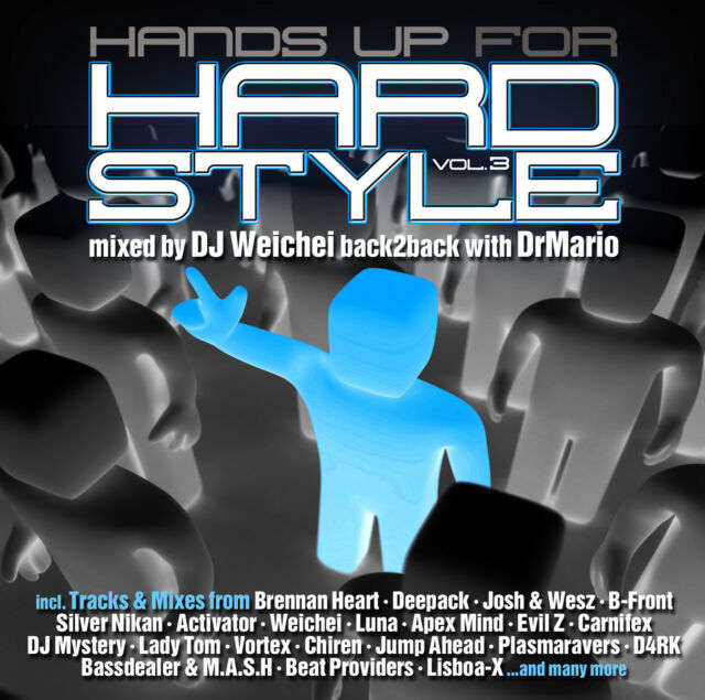 CD Hands up for Hardstyle 3 by Various Artists 2CDs