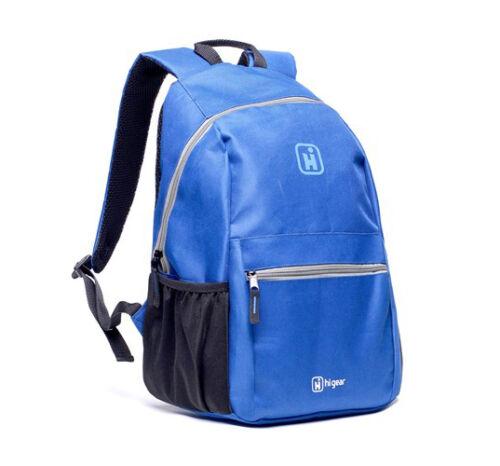 20L RETRO DAY BACKPACK BAG SCHOOL COLLAGE TRAVEL WORK OUTDOOR ZIP RUCKSACK LIGHT