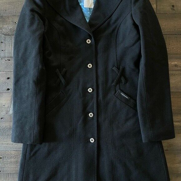 Dolce & Gabbana Wool Blend Belted Coat Medium  - image 5