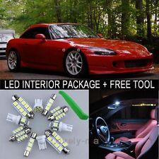 White LED Interior Package Light Bulb 5X Kit For 2000 2009 Honda S2000 + Tool J