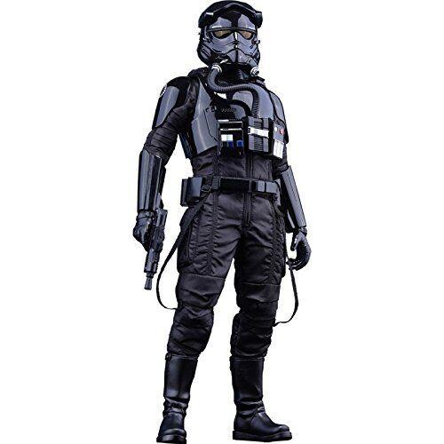 NEW Movie Masterpiece Star Wars First Order Tie Fighter Pilot 1 6 Hot Toys Japan