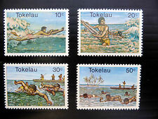 TOKELAU ISLANDS 1980 Watersports (4) Unmounted Mint NEW LOWER PRICE FP773