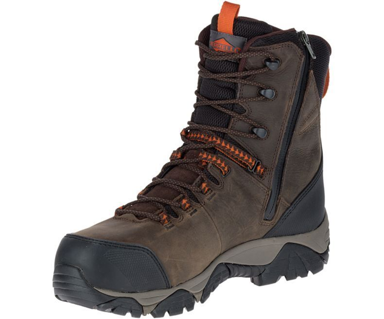 Merrell Men's J17729 Phaserboud Thermo Composite Toe Waterproof Safety Zip Boot