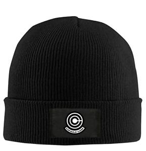 Capsule Corp Cool Toboggan Hat Wool Beanie Hat DBZ Dragon Ball Z