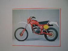 - RITAGLIO DI GIORNALE ANNO 1982 - MOTO FANTIC 125 ENDURO COMPETITION