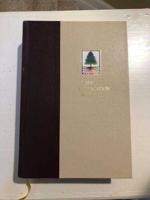 Tyndale Life Application Bible  1991 Hardcover ~ New International Version
