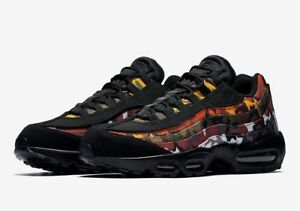 Details about NIKE AIR MAX 95 EDRL PARTY CAMO PACK MEN'S SHOES BLACK MULTICOLORED AR4473 001