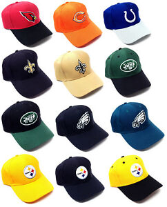 828699c49b5 REEBOK NFL TEAM APPAREL COLOR LOGO MASCOT RETRO HAT CAP ADJUSTABLE ...