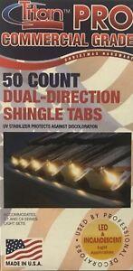 50 Titan Pro Commercial Grade Shingle Tabs for Christmas C7 /& C9 Lights /& Hooks
