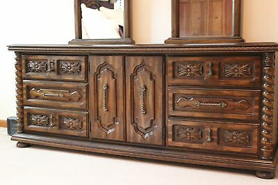 Spanish Provincial Five Piece Bedroom Set