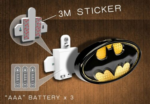 Official DC licensed product Motion Sensor Wall lamp (THE FLASH)
