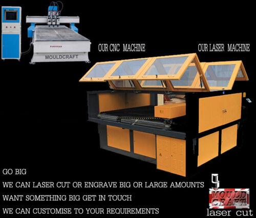 High grade Medite low fume 3mm 6mm MDF Sheets Laser Cutting Safe Crafts