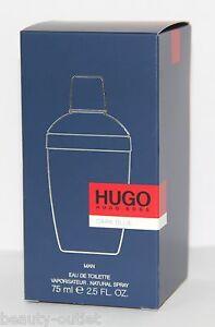 Hugo Boss DARK BLUE EDT 75ml Eau de Toilette NEUF & 100% Authentique Homme Vapo