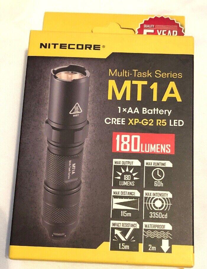 Nitecore MT1A 180 Lumen  LED Flashlight