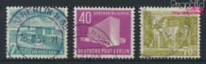 Berlin-West-121-123-kompl-Ausg-gestempelt-1954-Berliner-Bauten-9233267