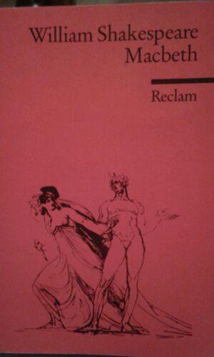 1 von 1 - Macbeth von William Shakespeare (1986, Taschenbuch)