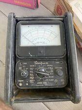 Simpson 260 8 Analog Multimeter