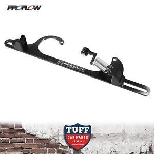 Proflow-Billet-Black-Throttle-Cable-Return-Spring-Bracket-Holley-4150-Carby-New