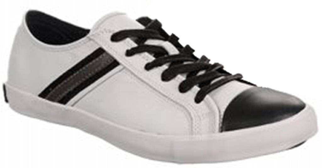 New. Kenneth Cole New York Men's Range Roamer Sneaker Size US 11.5 White / Grey