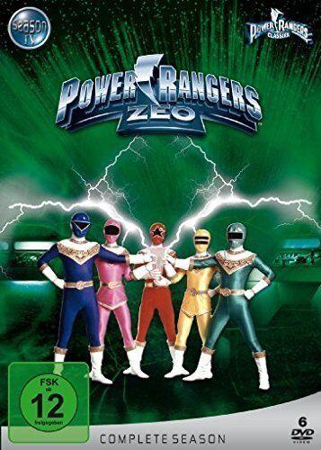 Power rangers - zeo vollständige reihe