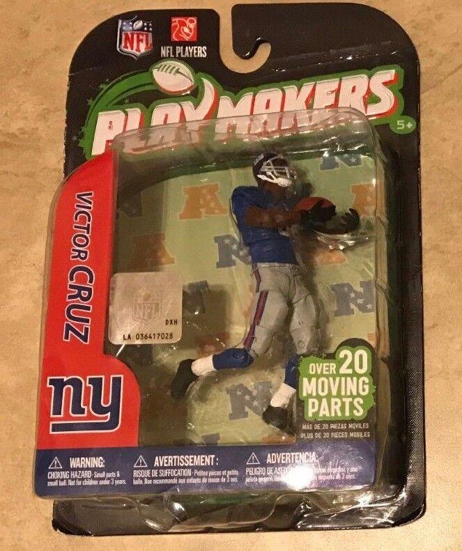 NFL Playmakers Series 3 Victor Cruz New York Giants 4  Figure McFarlane NEW