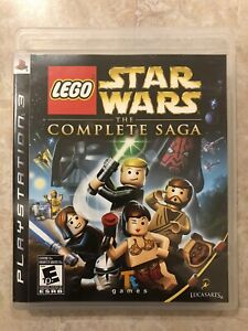 LEGO-Star-Wars-The-Complete-Saga-Sony-Playstation-3-PS3-Complete
