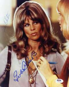 Julie Christie PSA DNA Coa Hand Signed 8x10 Photo Autograph