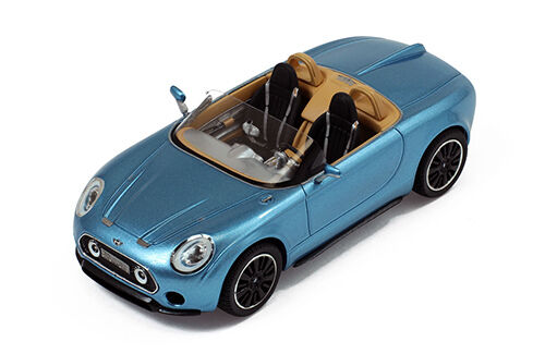 Mini superleggera vision concept 2014 bleu 1 43 MODEL premiumx