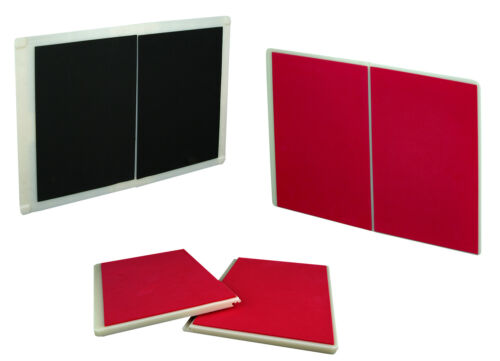 PROWIN Set of 2 Rebreakable Breaking Boards Martial Arts Karate TKD Red /& Black