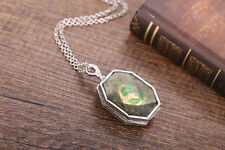 Harry Potter Slytherin Locket Horcrux pendant necklace Salazar Fancy Dress