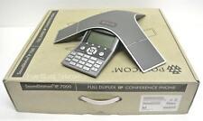 Polycom SoundStation IP 7000 VoIP Conference Phone PoE (2200-40000-001) - NEW
