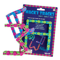 Wacky Tracks By Toysmith New, Fidget, Sensory Toy, Autism Choose Your Color