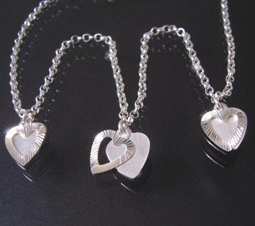 Fußkette cadena 925er plata 24-27cm bettelkette corazón corazones fußschmuck 22518-27